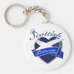 Scottish Princess Key Chain