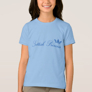 Scottish Princess Kids Ringer Shirt