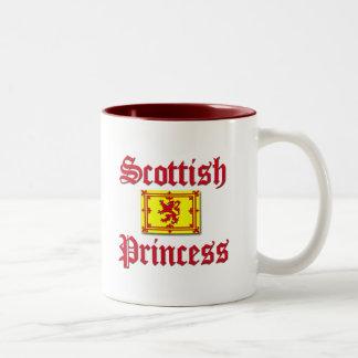 Scottish Princess Two-Tone Coffee Mug