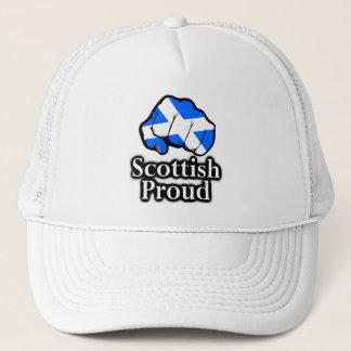 Scottish Proud Scotland Flag Fist Trucker Hat