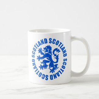 Scottish Rampant Lion Emblem Coffee Mug