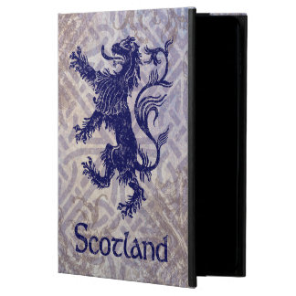 Scottish Rampant Lion Navy Blue Celtic Knot Powis iPad Air 2 Case