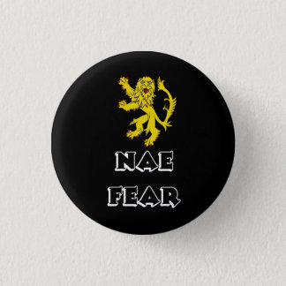 Scottish Rampant Lion Pinback Pinback Button