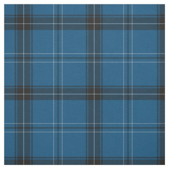 Scottish Ramsay Blue Tartan Fabric