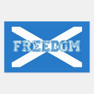 Scottish Referendum Scotland Independant Freedom Sticker