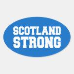 Scottish Referendum Scotland Independant Freedom Oval Sticker