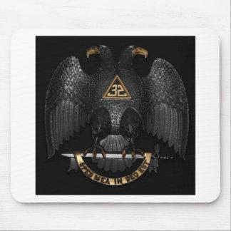 Scottish Rite 32 Degree Mason Eagle Mouse Pad