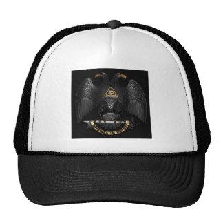 Scottish Rite 32 Degree Mason Eagle Trucker Hat