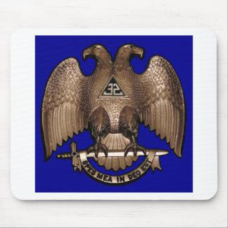 Scottish Rite 32 Degree Royal Blue Mouse Pad