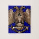 Scottish Rite 32 Degree Royal Blue Puzzle