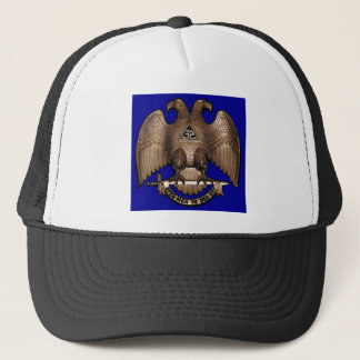 Scottish Rite 32 Degree Royal Blue Trucker Hat