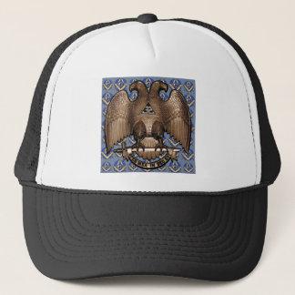 Scottish Rite Square & Compass Trucker Hat