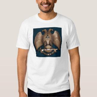 Scottish Rite Teal 32 Degree Tee Shirts