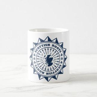 Scottish Roots Map Classic White Coffee Mug