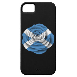 Scottish Rose Flag on Black iPhone 5 Covers