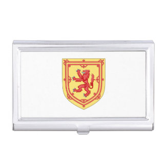 Scottish Royal Arms Case For Business Cards