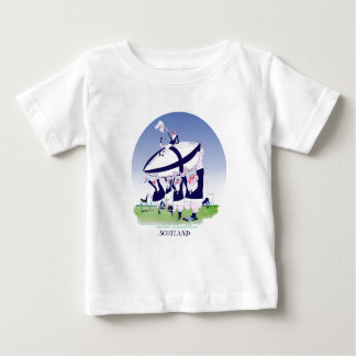 scottish rugby cheers, tony fernandes infant t-shirt