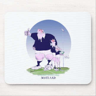 scottish rugby chums, tony fernandes mouse pad