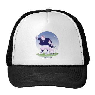 scottish rugby chums, tony fernandes trucker hat