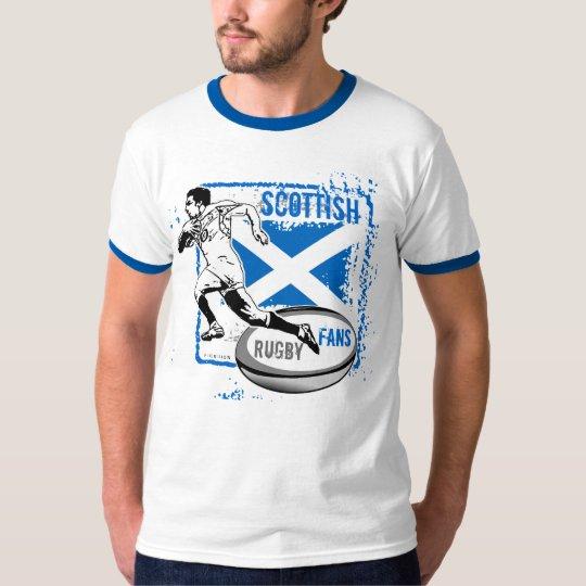 Scottish Rugby Fans T-Shirt Run