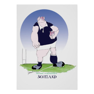 scottish rugby, tony fernandes poster