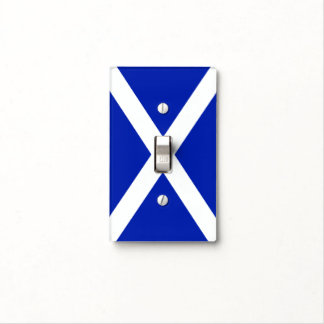 Scottish Saltire Flag Light Switch Cover