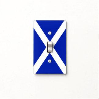 Scottish Saltire Flag Light Switch Cover