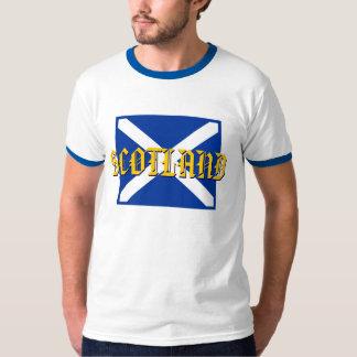 Scottish Saltire Flag of Scotland T-Shirt