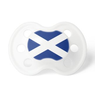 Scottish Saltire Pacifier
