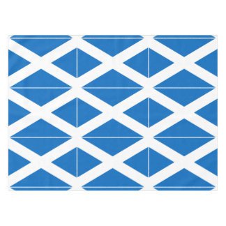 Scottish Saltire Party Tablecloth