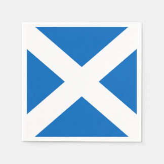 Scottish Saltire Party Paper Napkin