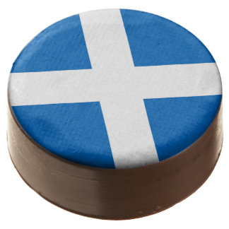 Scottish Saltire Party Chocolate Covered Oreo
