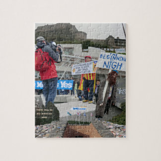 Scottish Scenes from the Independence Referendum Jigsaw Puzzle