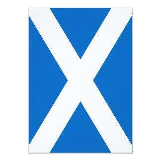 Scottish Scotland Flag Card