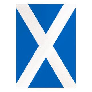 Scottish Scotland Flag Large Business Card