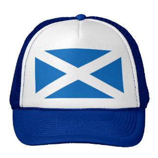 Scottish Scotland flag Trucker Hats