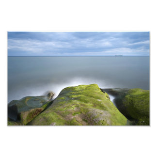 Scottish Seascape Long Exposure Art Photo
