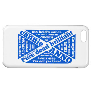 Scottish slang and jargon St Andrews's Cross flag iPhone 5C Cases