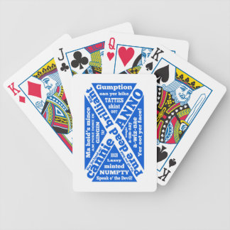 Scottish slang and phrases bicycle playing cards