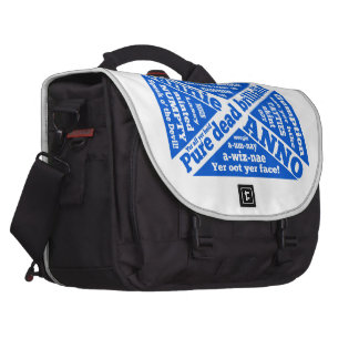 Scottish slang and phrases laptop bags