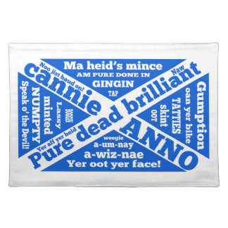 Scottish slang and phrases placemat