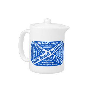 Scottish slang and phrases teapot