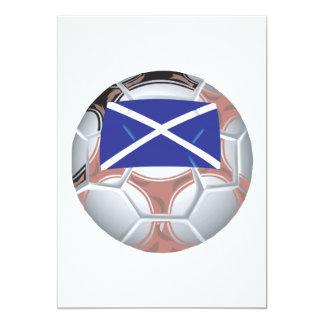 Scottish Soccer Ball Card