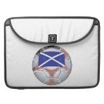 Scottish Soccer Ball Sleeve For MacBook Pro