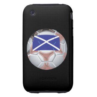 Scottish Soccer Ball Tough iPhone 3 Case