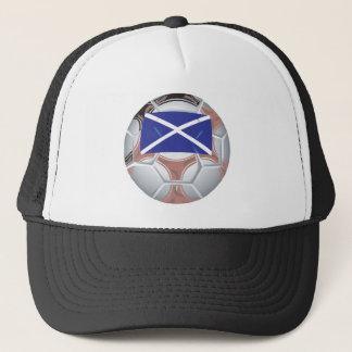 Scottish Soccer Ball Trucker Hat