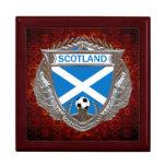 Scottish Soccer Keepsake Box