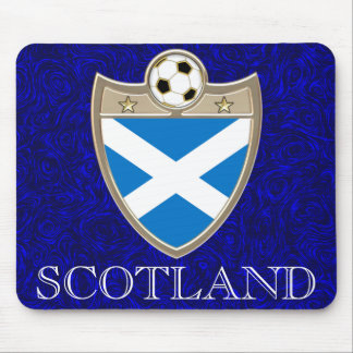 Scottish Soccer Mouse Pad