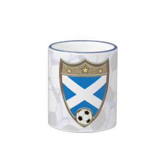 Scottish Soccer Ringer Coffee Mug