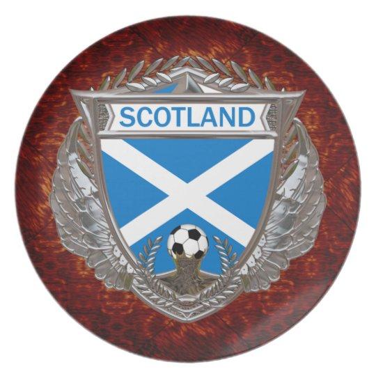 Scottish Soccer Team Dinner Plate